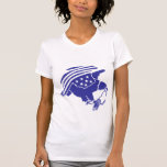 Anti-Vigilancia Eagle (estilo sólido) Camiseta