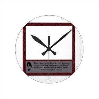 Anti-Violence Against Women Clock