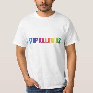 Anti-Violence Stop Killing Us Mass Shootings LGBT T-Shirt