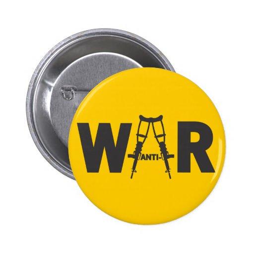 Anti-War Button