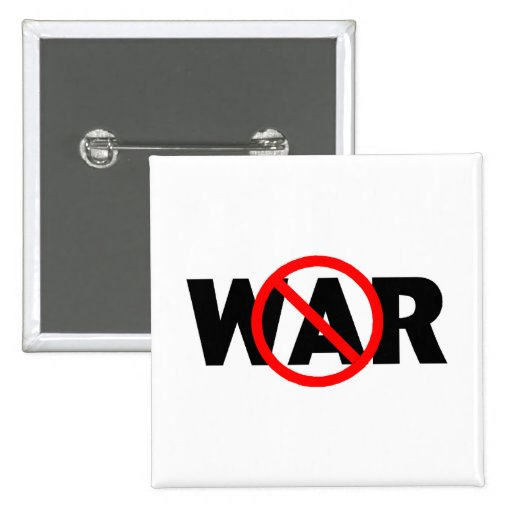 Anti War Button