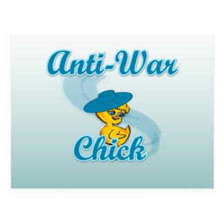 Anti-War Chick #3 Postcard