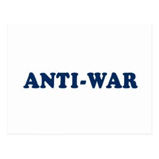 Anti-War Postcard