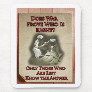 Anti-War Poster Mouse Pad