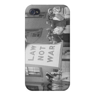 Anti-War Rally, 1920s Covers For iPhone 4