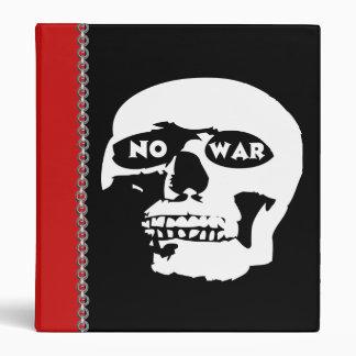 Anti-War Skull Binder