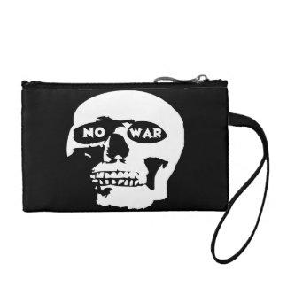 Anti-War Skull Change Purse