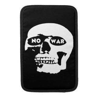 Anti-War Skull MacBook Sleeves