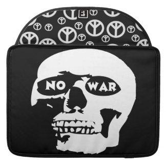 Anti-War Skull Sleeves For MacBooks