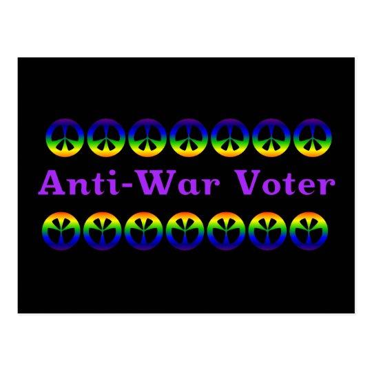 Anti-War Voter Postcard