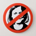 ANTI-WHITMAN / ANTI-MEG WHITMAN PINBACK BUTTON