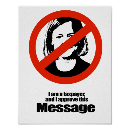 ANTI-WHITMAN, I am a taxpayer and I approve thi... Print