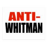 ANTI-WHITMAN POSTAL