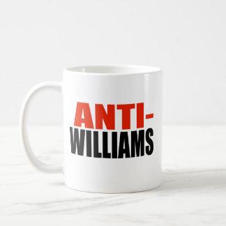 ANTI-WILLIAMS TAZAS DE CAFÉ