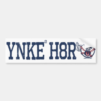 Anti-Yanqui de YNKEE H8R Etiqueta De Parachoque