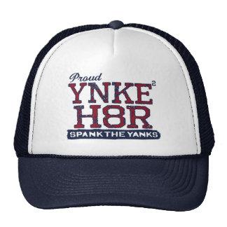 Anti-Yanqui de YNKEE H8R Gorras De Camionero