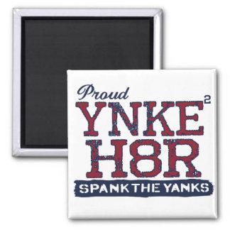 Anti-Yanqui de YNKEE H8R Imán Cuadrado