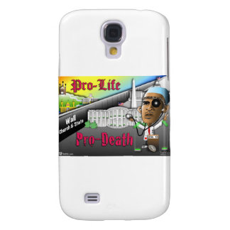 Antiabortista contra Favorable-Muerte Samsung Galaxy S4 Cover