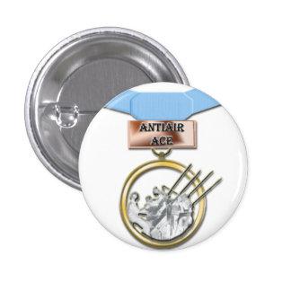 Antiair Ace medal button