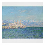 Antibes, Afternoon Effect (1888) Canvas Print