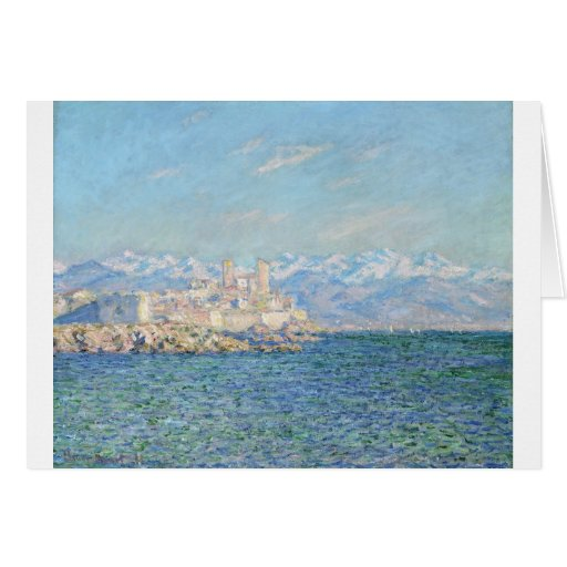 Antibes, Afternoon Effect (1888) Card