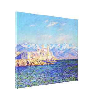 Antibes, Afternoon Effect, 1888 Claude Monet cool, Canvas Print