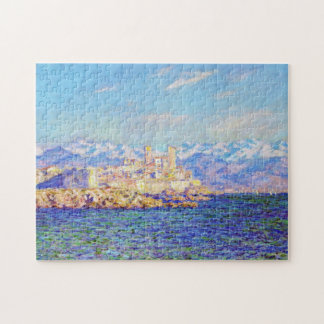 Antibes, Afternoon Effect, 1888 Claude Monet cool, Jigsaw Puzzle