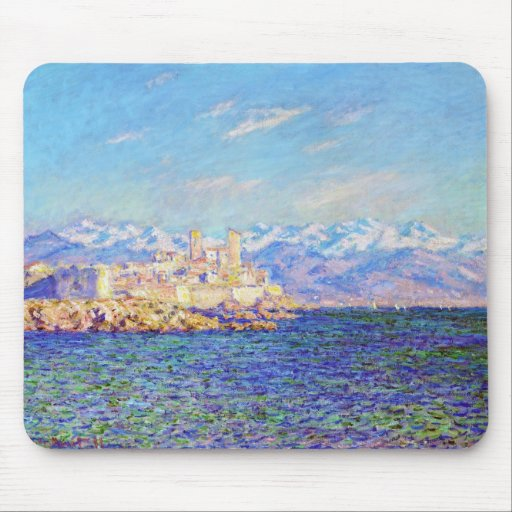 Antibes, Afternoon Effect, 1888 Claude Monet cool, Mouse Pad
