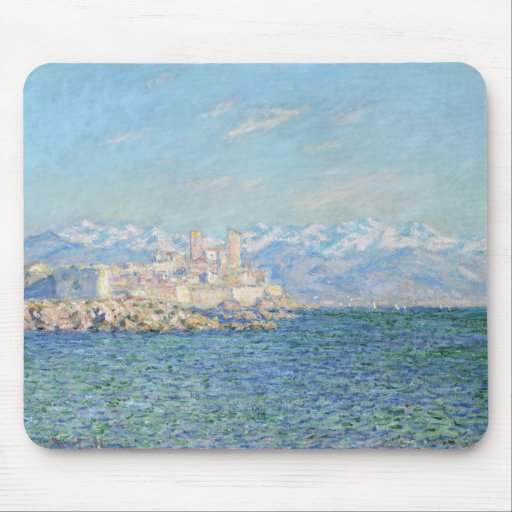 Antibes, Afternoon Effect - Claude Monet Mousepads