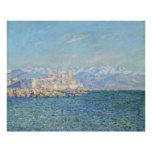 Antibes, Afternoon Effect - Claude Monet Poster