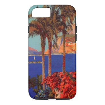 Beach Themed Antibes Cote D'Azur Travel Tough iPhone 7 Case