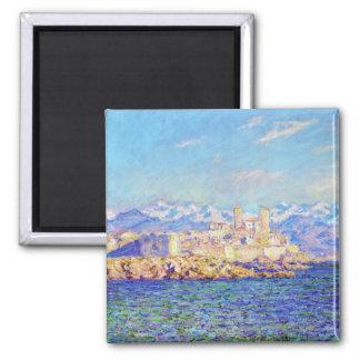 Antibes, efecto de la tarde, Claude Monet 1888 fre Imán Cuadrado