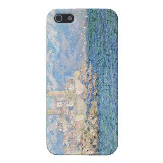 Antibes, efecto de la tarde - Claude Monet iPhone 5 Carcasas