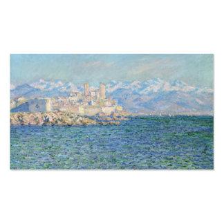 Antibes, efecto de la tarde - Claude Monet Tarjeta De Visita
