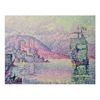Antibes, Evening, 1914 Post Card