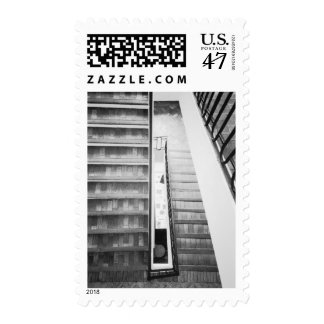Antibes france, Stairs Museum Postage
