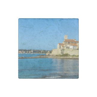 Antibes France Stone Magnet