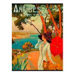 Antibes France Vintage Poster Postcards