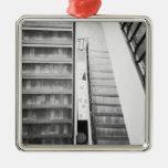 Antibes Francia, museo de Picasso de las escaleras Adorno De Navidad