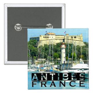 Antibes Pinback Button