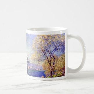 Antibes seen from the Salis Garden - Claude Monet Coffee Mug