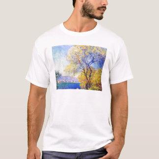 Antibes Seen from the Salis Gardens Claude Monet T-Shirt