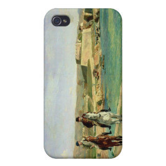 Antibes, the Horse Ride, 1868 iPhone 4/4S Covers