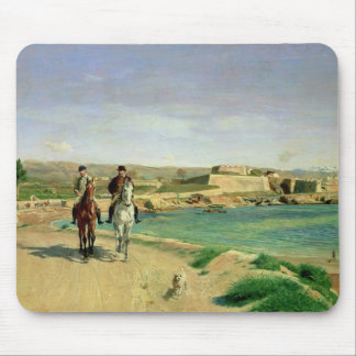 Antibes, the Horse Ride, 1868 Mouse Pad