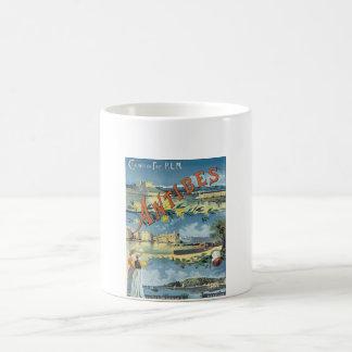 Antibes Vintage Travel Poster Coffee Mug
