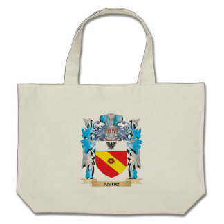 Antic Coat Of Arms Canvas Bags