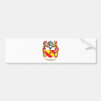 Antic Coat of Arms (Family Crest) Bumper Sticker