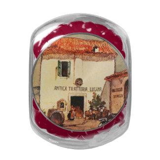 Antica Trattoria Lucana - A Wayside Trattoria Jelly Belly Candy Jar