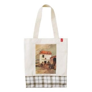 Antica Trattoria Lucana - A Wayside Trattoria Zazzle HEART Tote Bag