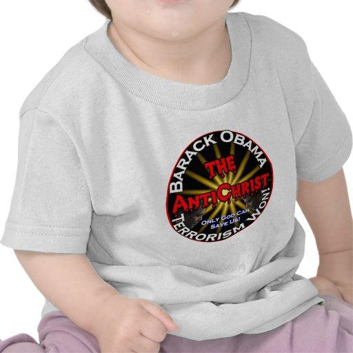 AntiChrist Obama God T-shirt